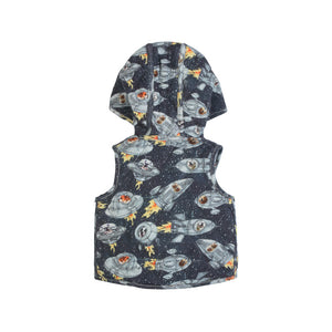 Puffer Vest - Dogs in Space