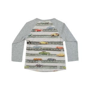 Raglan Long Sleeve T-Shirt - Vintage Highway