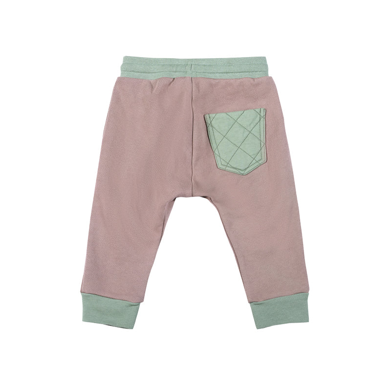 Quilted Pocket Trackies