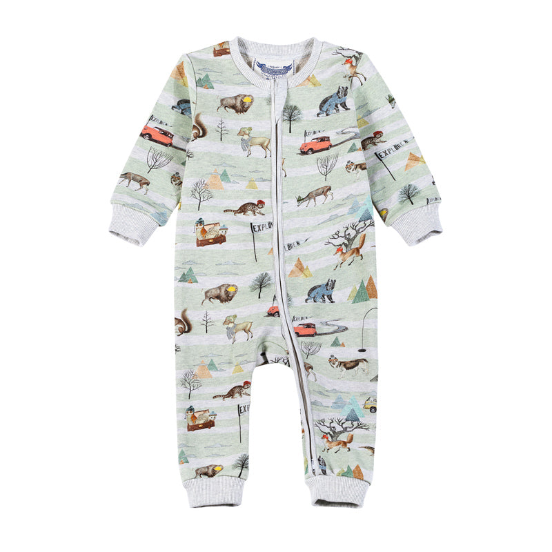 Relaxed Fit Romper - Explore Nature
