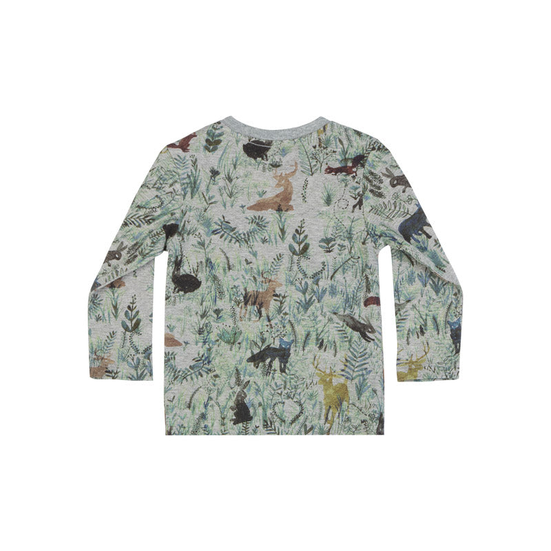Raglan Long Sleeve T-Shirt - Forest