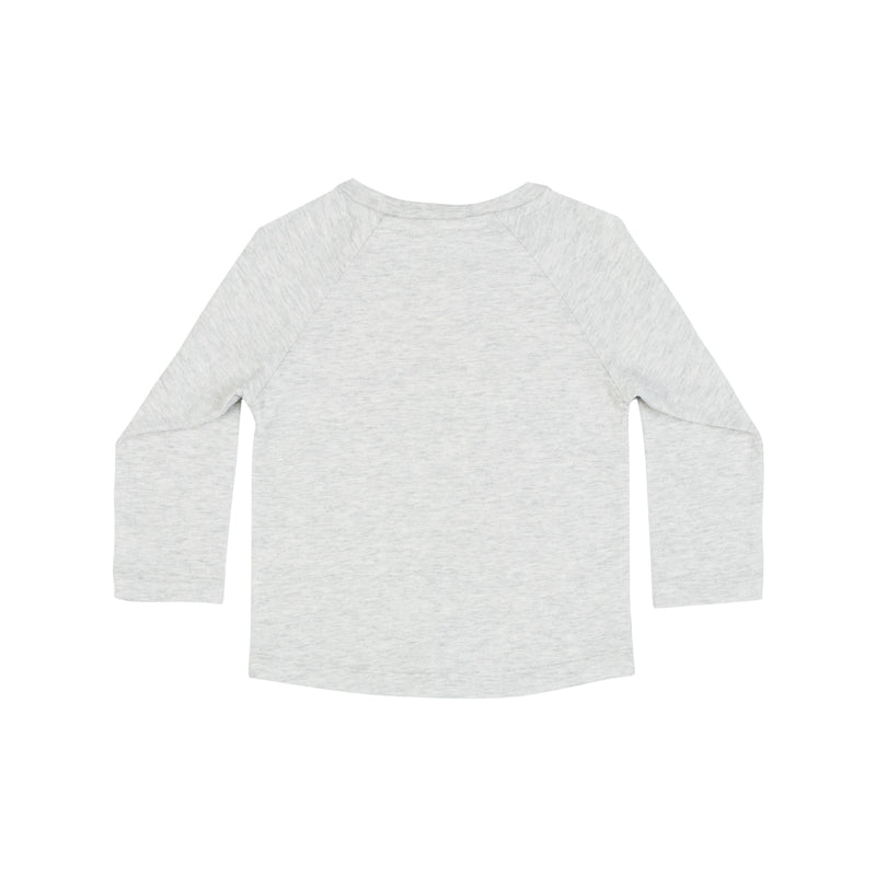 Raglan Long Sleeve T-Shirt - All Clear