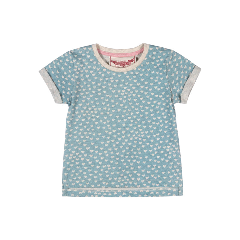 Tee with Cuffs - Texta Heart