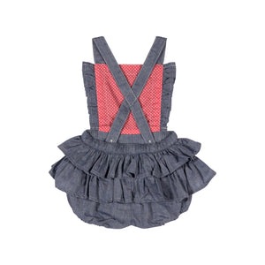 Frilled Bloomers Overalls