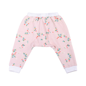 Frilled Trackies - Sweet Floral