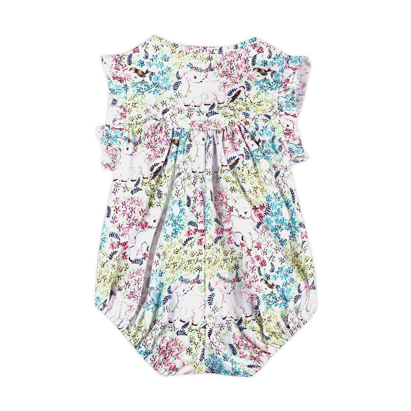 Cross Over Romper - Spring
