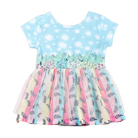 Tutu Romper Dress- Spring Lamb