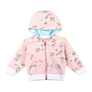 Light Weight Hoodie - Sweet Floral