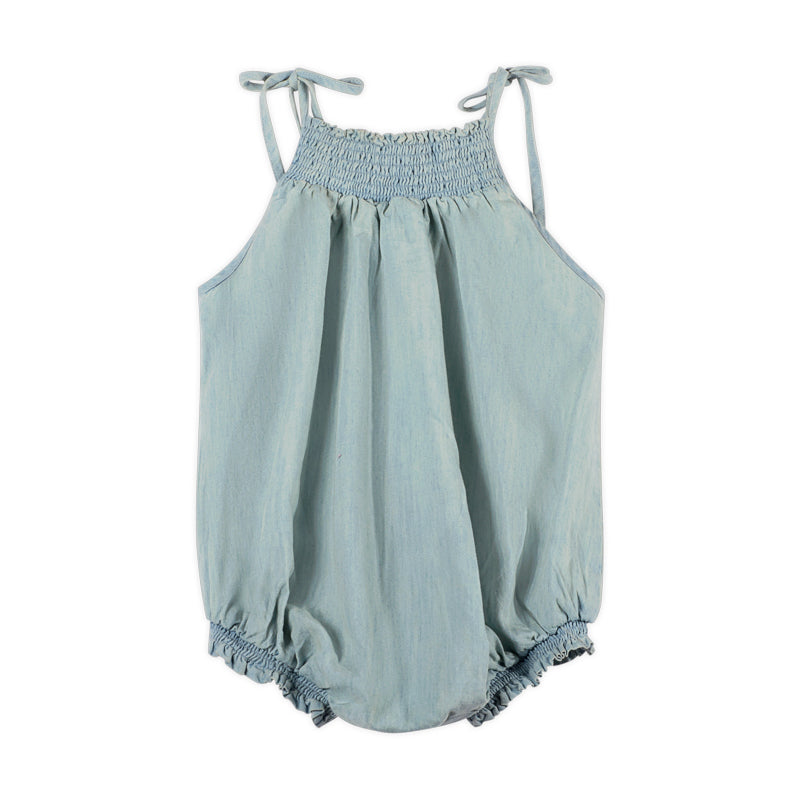 Shirred Romper