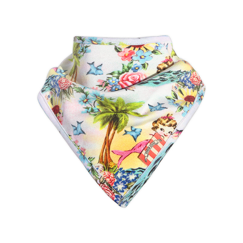 Bandana Bib - Tropical Mermaid