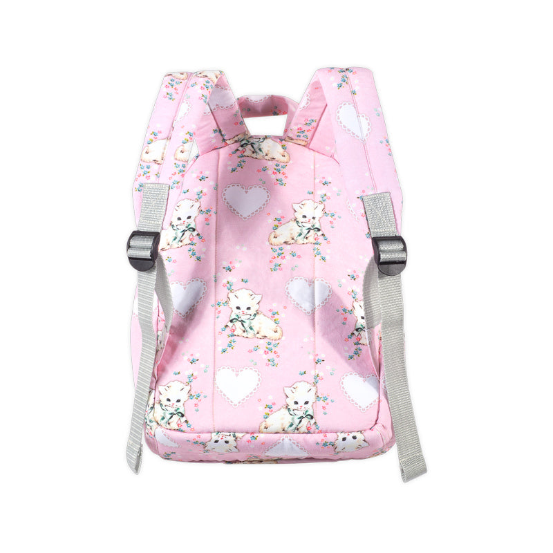 Classic Junior Backpack - Heart Kittens