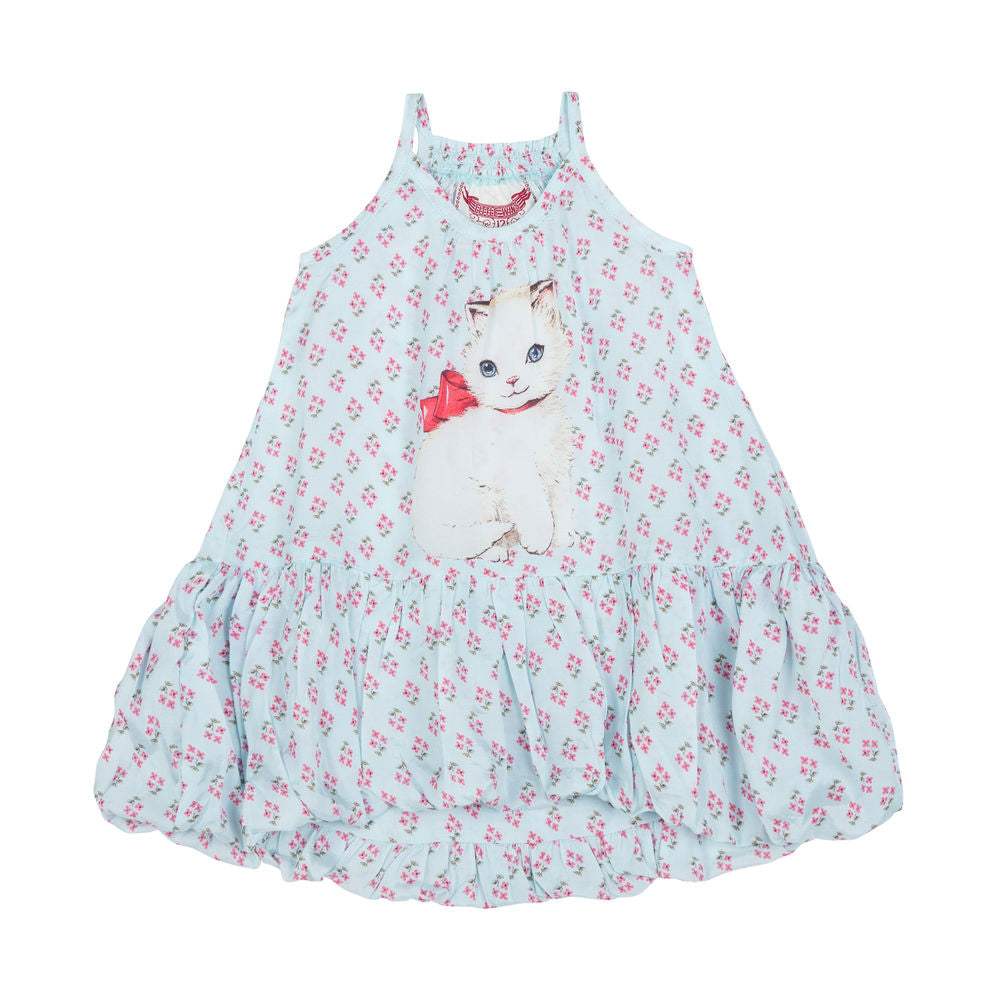 Bubble Dress - Retro Kitten