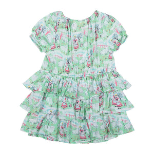 Puff Sleeve Dress - Bo Peep