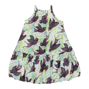 Bubble Dress - Tropical Birds