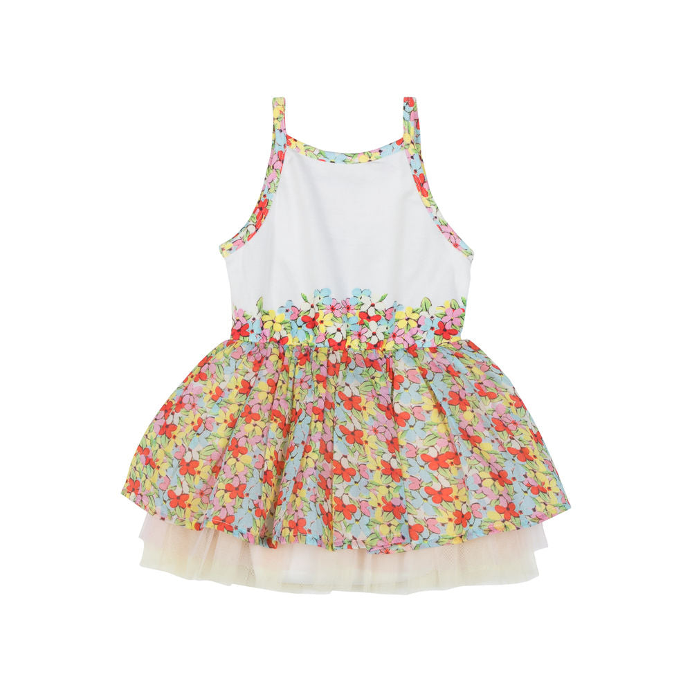Singlet Tutu Dress - Summer Kitty
