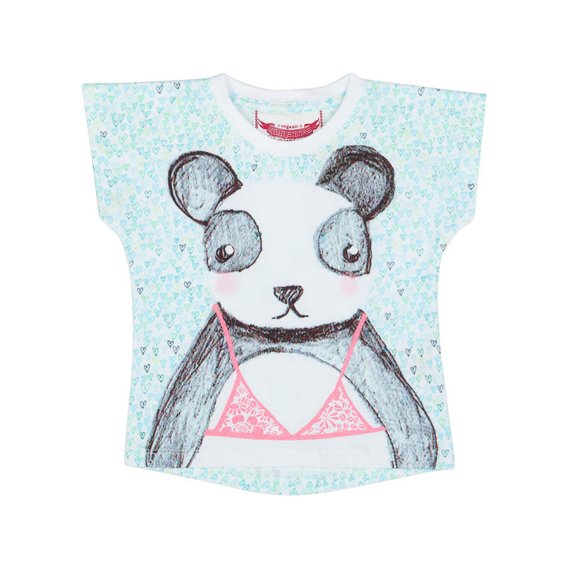 Simple T-shirt - Beach Panda
