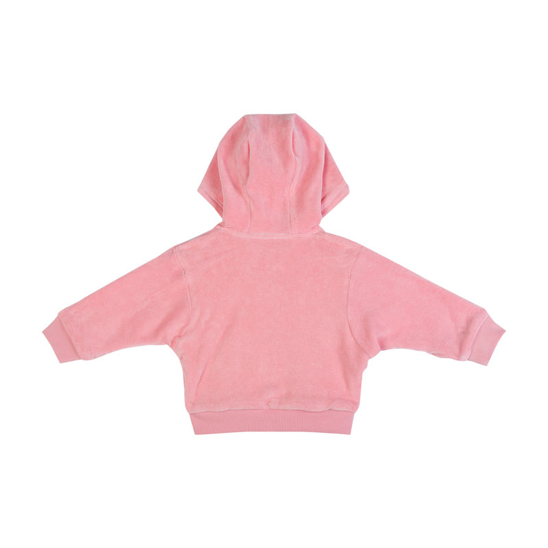 Reversible Velour Hoodie - Unicorns
