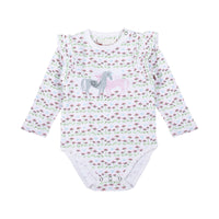 Frilled Onesie - Unicorn Love