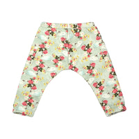 Reversible Relaxed Fit Trackies - Swans and Roses