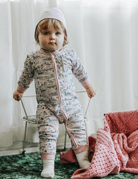 Relaxed Fit Romper - Forest Friends
