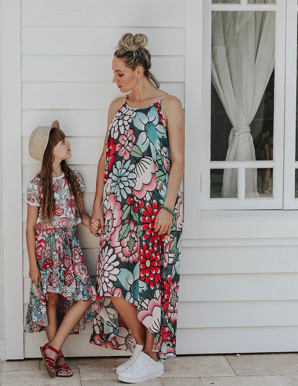 Maxi Dress - Tattoo Floral