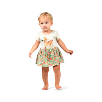 Tutu Bloomer Dress - Butterfly Deer