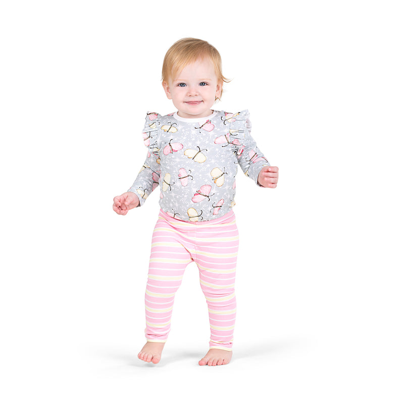 Frilled Onesie - Butterfly Sparkle