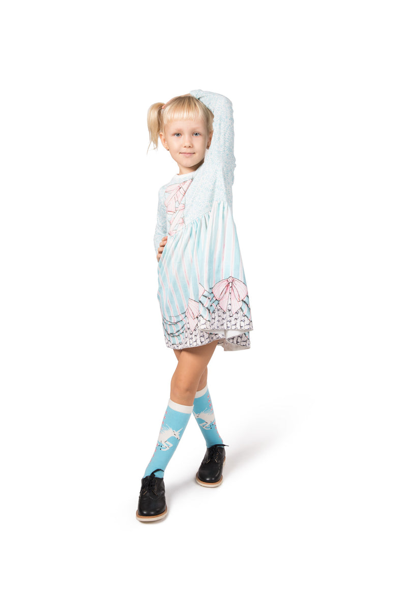 Gathered T-Shirt Dress - Frills and Spills