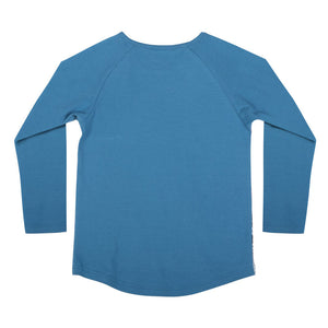 Long Sleeve Raglan T-shirt - Run For It