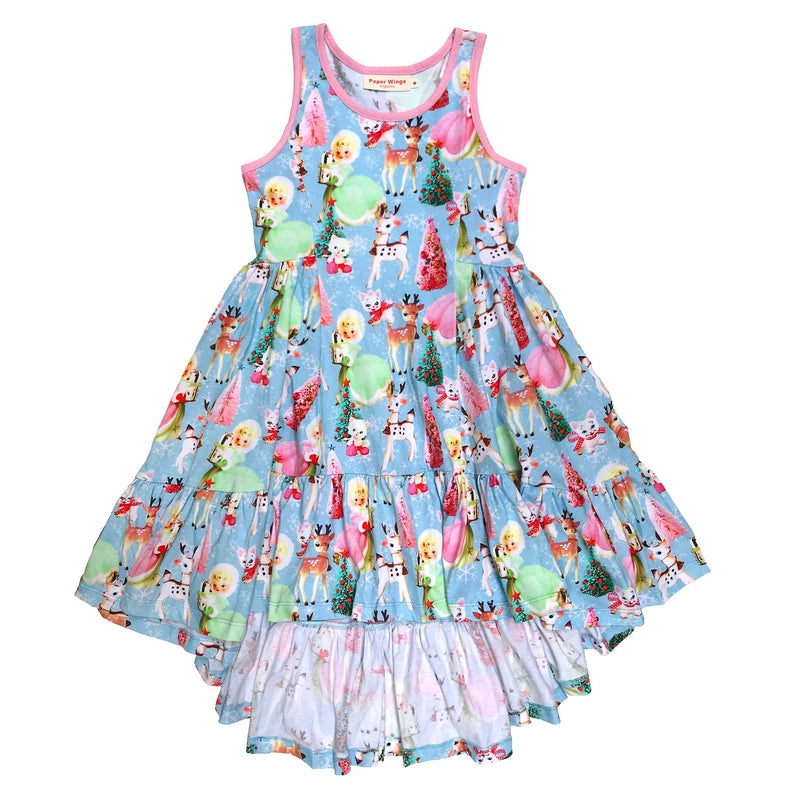 Bustle Swing Dress - Very Christmas