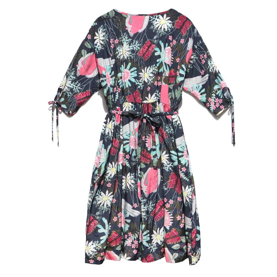 Viscose Smock Dress - Flora and Fauna