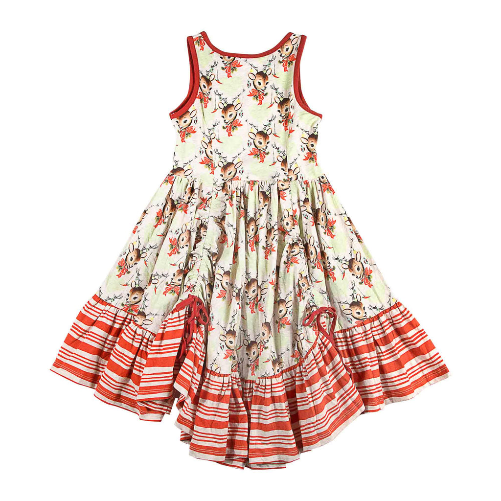 Bustle Swing Dress - Deco Deer