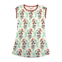 Tank Nightie - Koala Christmas Yardage