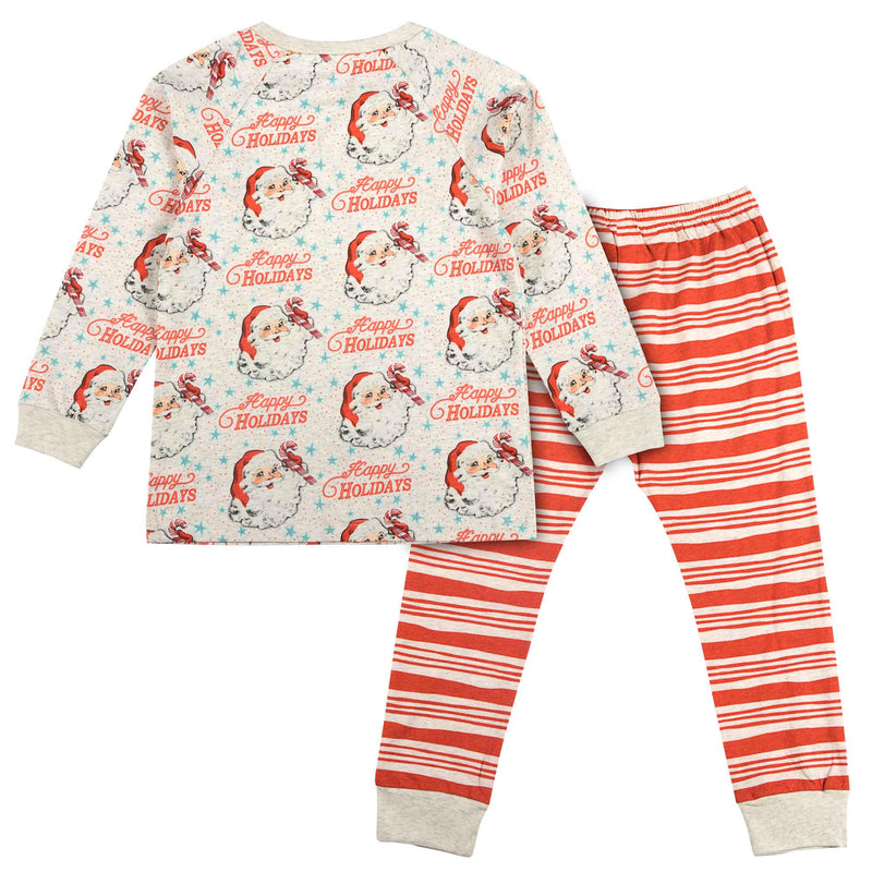 Long Sleeve Pyjama Set - Happy Holidays