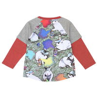 Long Double Sleeve Raglan Tee - Instant Easter