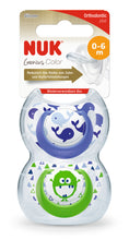 Set de 2 Chupetes Genius Color 6-18 meses - Nene