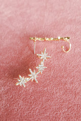 GOLD DIAMANTE CELESTIAL EAR CUFF