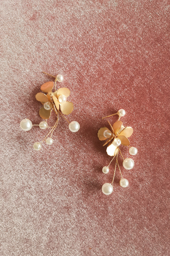 BLOOMING DREAM DROP EARRINGS