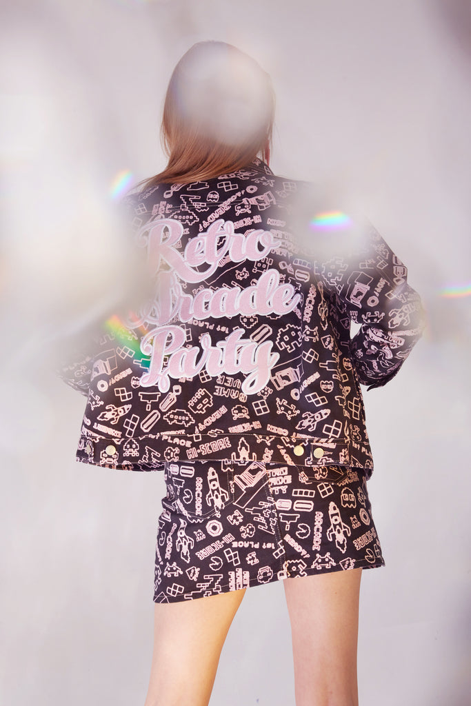 RETRO ARCADE PARTY JACKET