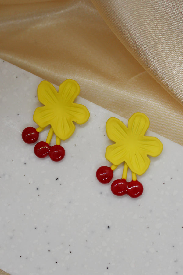 BLOOMING STUD EARRINGS