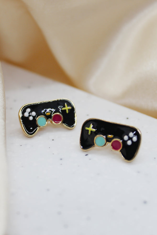 GAMEPAD STUD EARRINGS