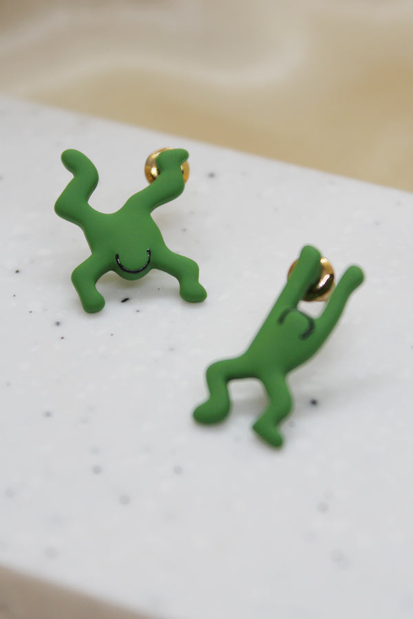 DANCE BUDDY STUD EARRINGS