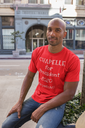 CHAPELLE For President Short-Sleeve 100% Combed and Ring-Spun Cotton Unisex T-Shirt