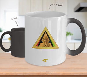 PYRAMID & SPHINX ~ 11oz Temperature Color Changing Mug
