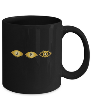 B STUDENTS ~ 11oz Black Mug