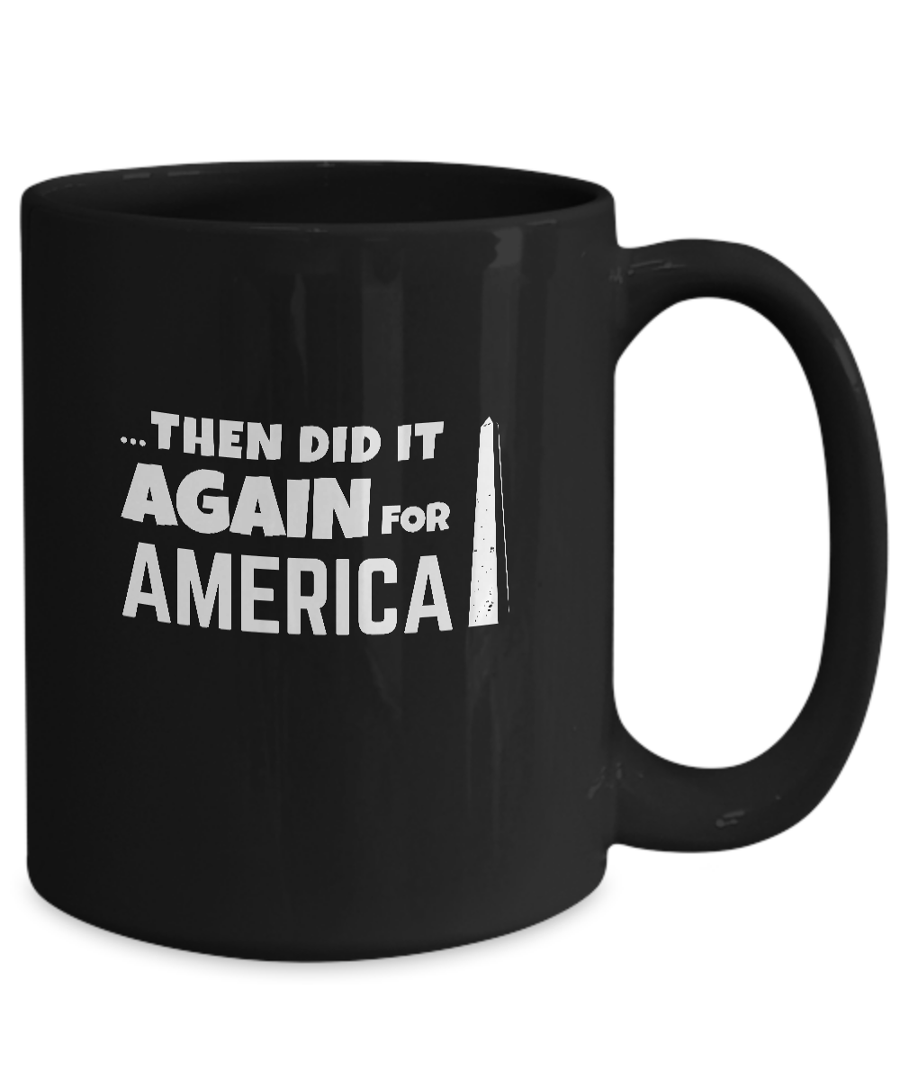 AFRICANS BUILT ~ Black 15oz mug