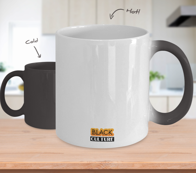 BLACKNESS ~ Temperature Color Changing Mug