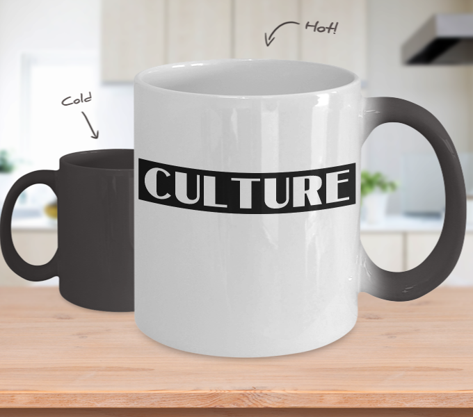 CULTURE - 11oz Color Changing Mug
