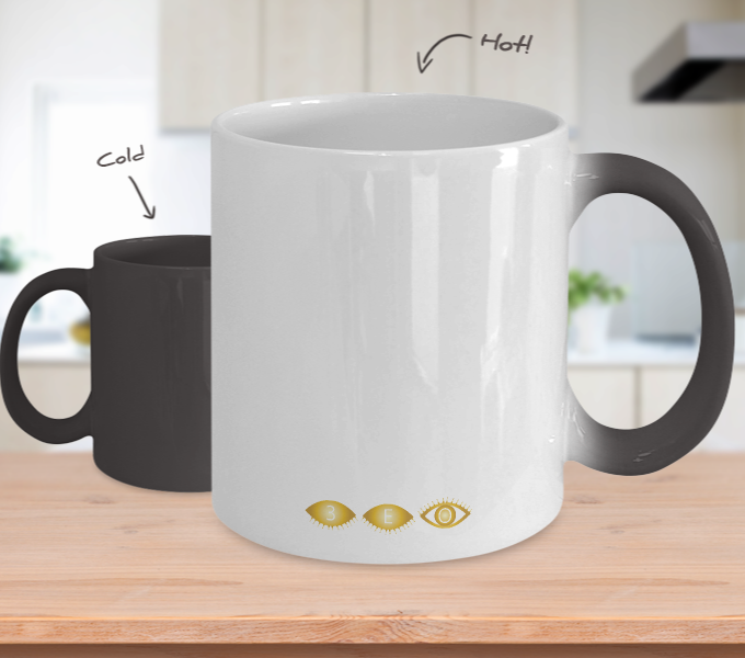 BLACK~A~DEMIC - Tempurature Color Changing Mug