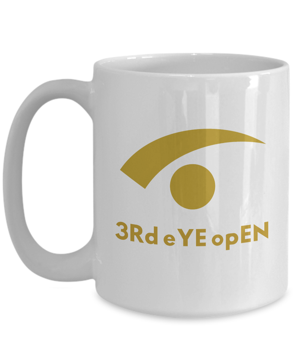 3RD EYE OPEN - 15oz White Mug